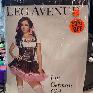 Lil' German Girl Women's Costume